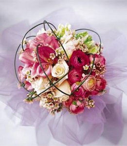 Image of 10010 Brilliant Shades of Love Bouquet