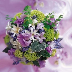 Image of 10012 Lavender Garden Bouquet