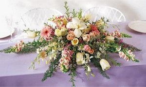 Image of 10063 Fleurs Galore Head Table Centerpiece