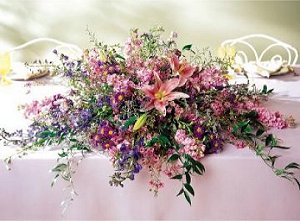Image of 10064 Eternal Summer Head Table Centerpiece