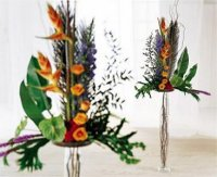 Image of 10071 Tropical Flower Altar Arrangement