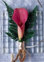 Image of 10118 Blooming Fern Boutonniere