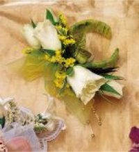 Image of 10123 Bella Rose Wrist Corsage