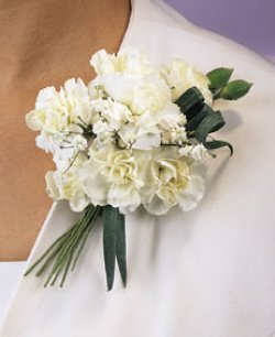 Image of 10687 Carnation Corsage