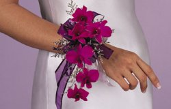 Image of 10704 Dendrobium Wrist Corsage