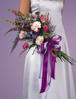 Image of 10749 Bridesmaids Bouquet