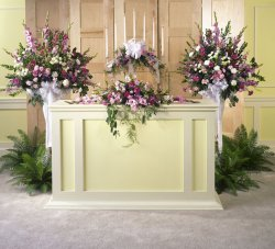 Image of 10752 Church Flowers