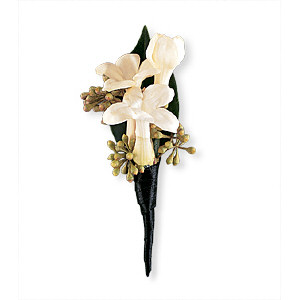 Image of 10804 Stephanotis Boutonniere.