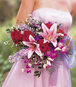 Image of 10827 Cradled Beauty Bouquet.
