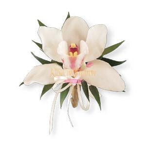 Image of 10835 Cymbidium Orchid Corsage.