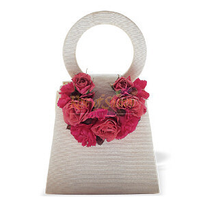 Image of 10838 Plush Pinks Purse Corsage.