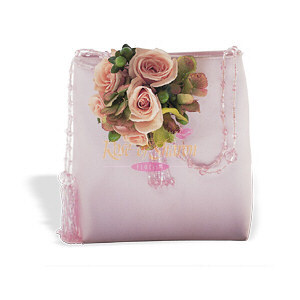 Image of 10839 Pink and Green Purse Corsage.