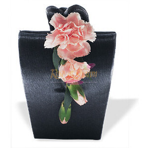 Image of 10841 Cascading Carnations Purse Corsage.
