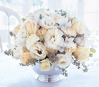 Image of 10852 Cherished Vows Centerpiece.