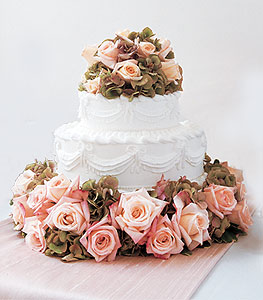 Image of 10854 Sweet Visions Wedding Cake Decoration.