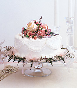 Image of 10856 Pink Adornment Cake Top.