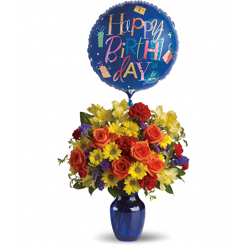 6314 Fly Away Birthday Bouquet  product image