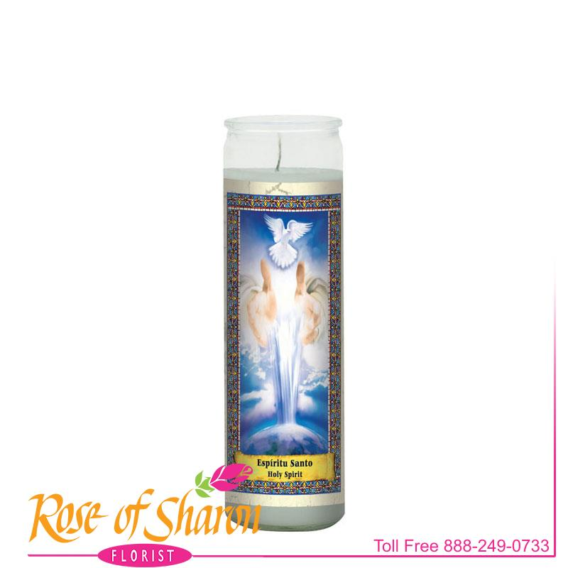 Holy Spirit Candle main product image