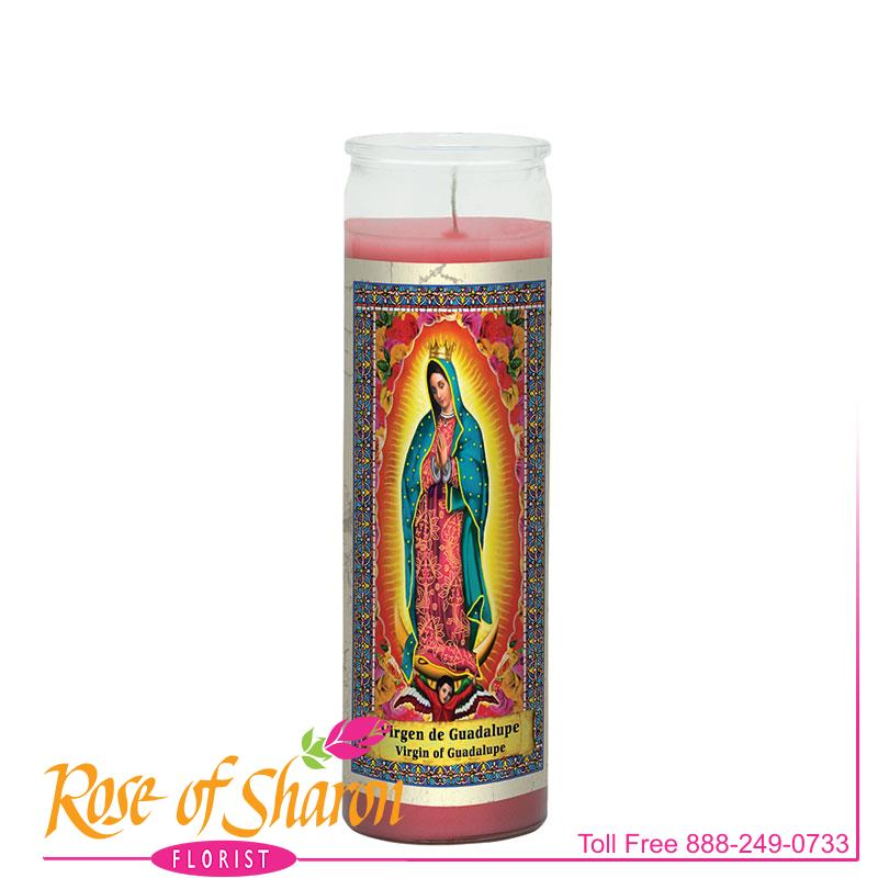 Virgin of Guadalupe Candle main product image