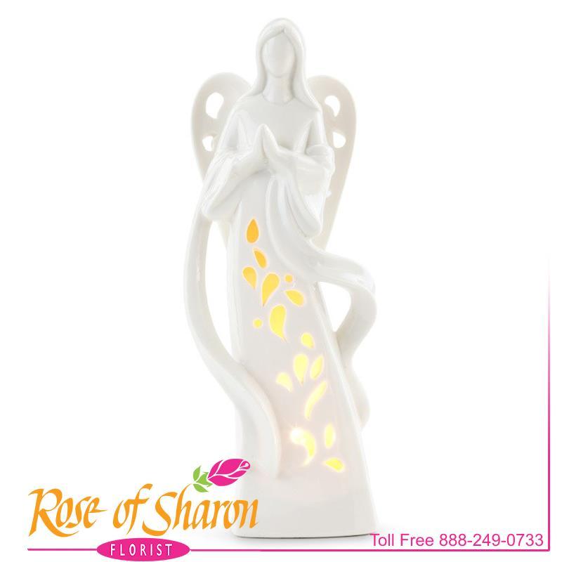 Light Up Praying Angel main product image
