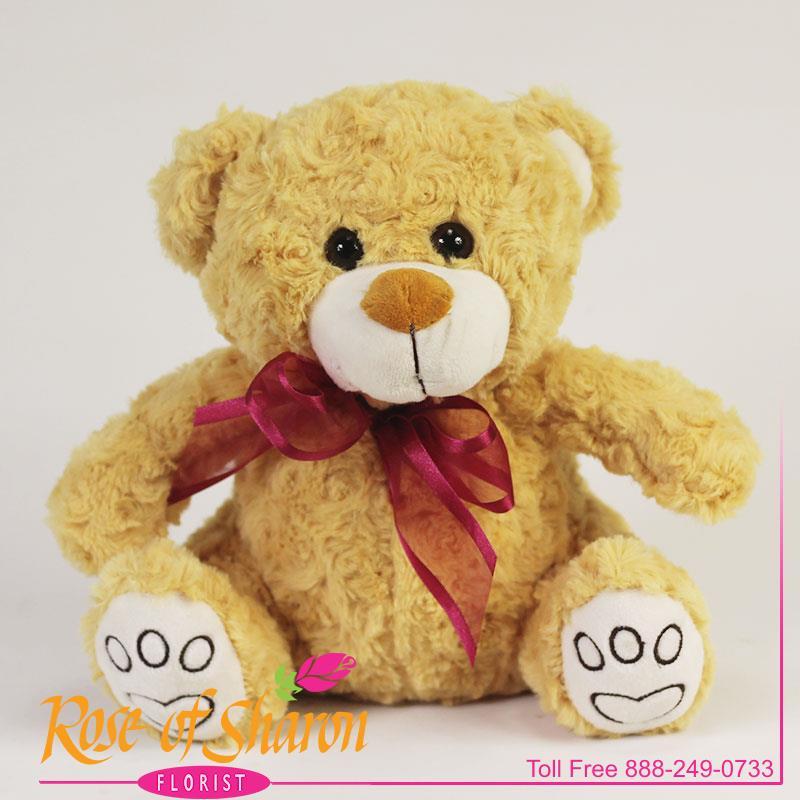Sitting Plush Bear main product image