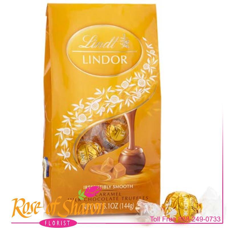 Lindor Caramel Truffles main product image