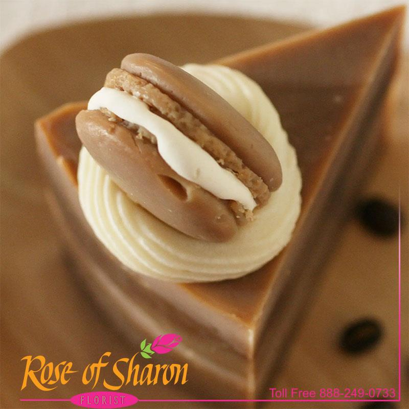 Chocolate Macaron Cake Slice main product image