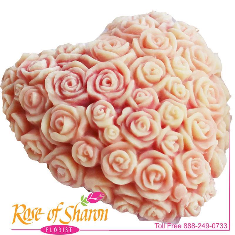 Rose Heart Soap main product image