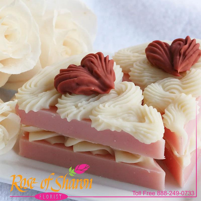 Rose Scented Cake Slice main product image