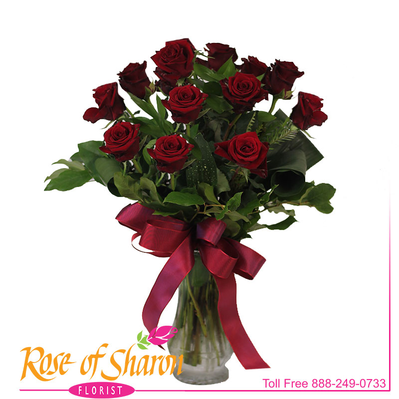 1026 Presentation Rose Bouquet Image Two