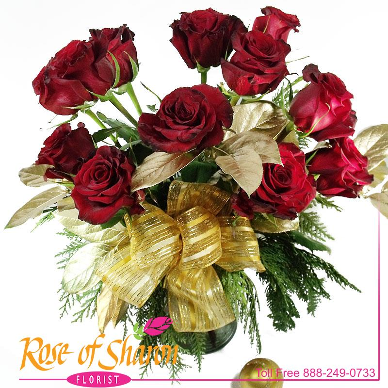 1945 Noëlle Rose Bouquet Image Two