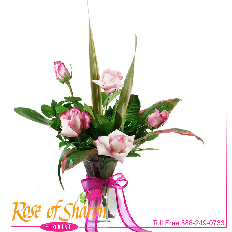 1960 Tailored Pink Roses product image
