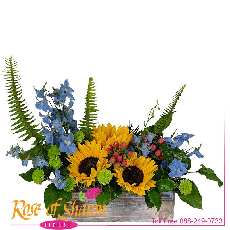 Samuel Sunflower Arrangement main product image