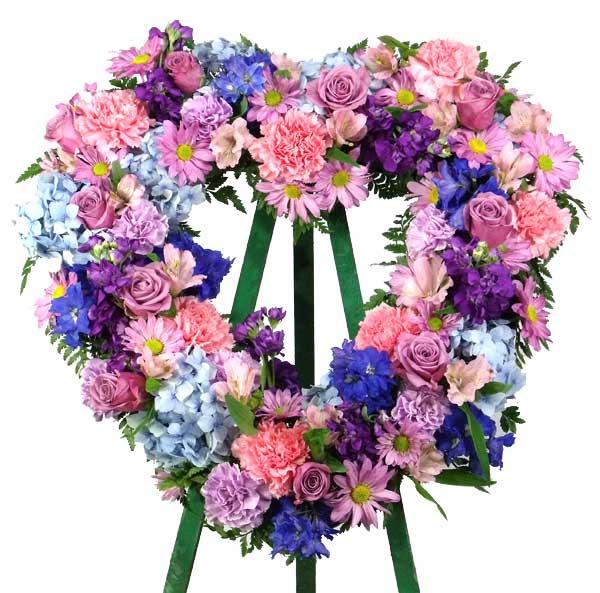 Feminine Reflections Heart Wreath main product image