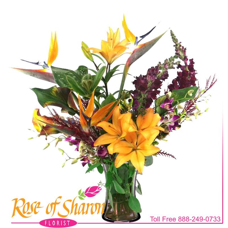 2154 Savannah Vase Arrangement product image