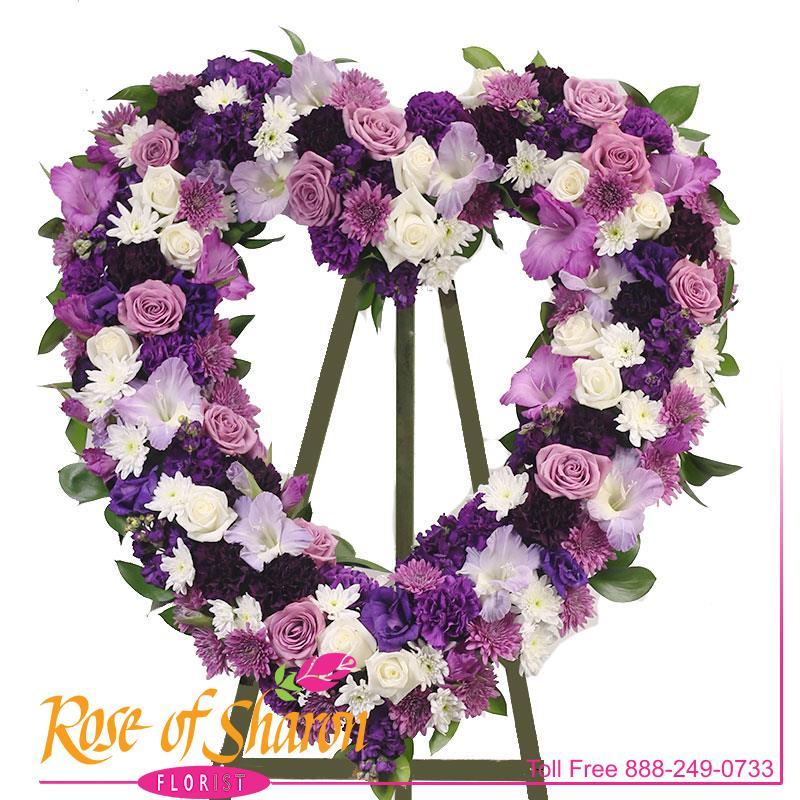 Purple Passion Heart main product image