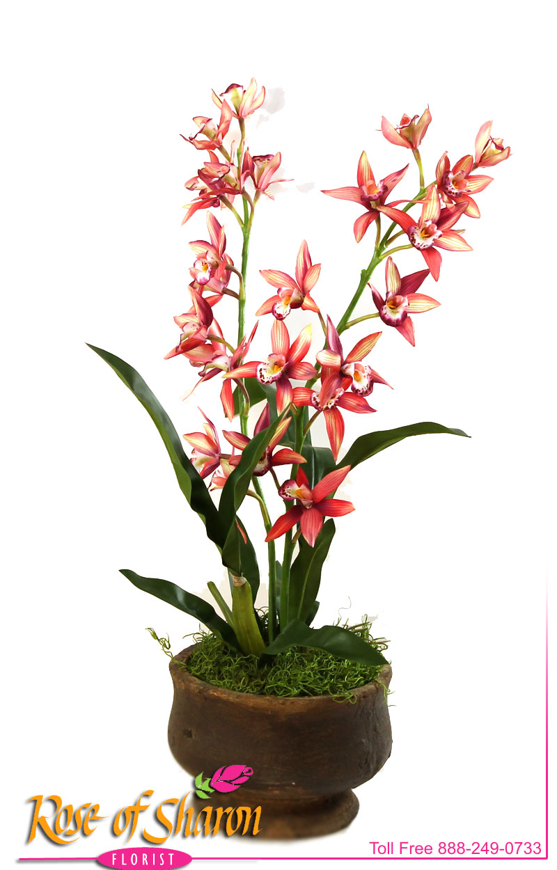 Artificial Cymbidium Plant main product image