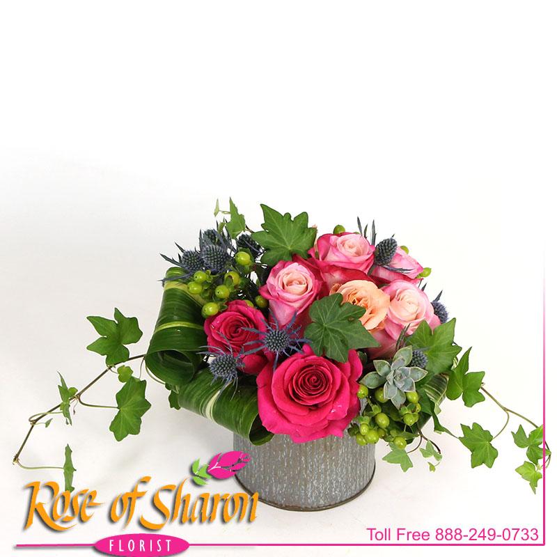 2491 Rosabela in Norah Vase Image One