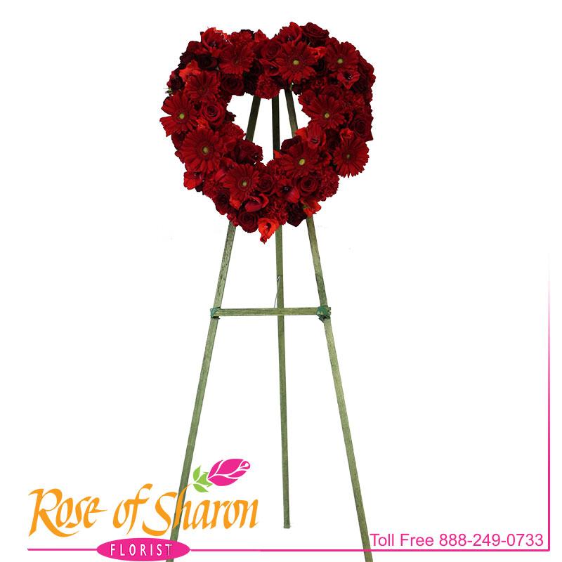 2627 Crimson Heart Spray Image One