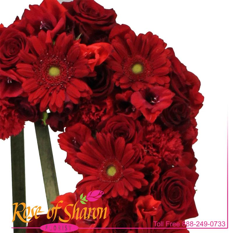 2627 Crimson Heart Spray Image Two