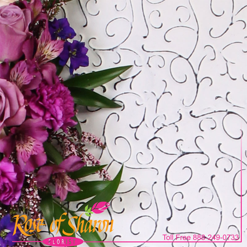 2638 Shabby Floral Heart Image Two