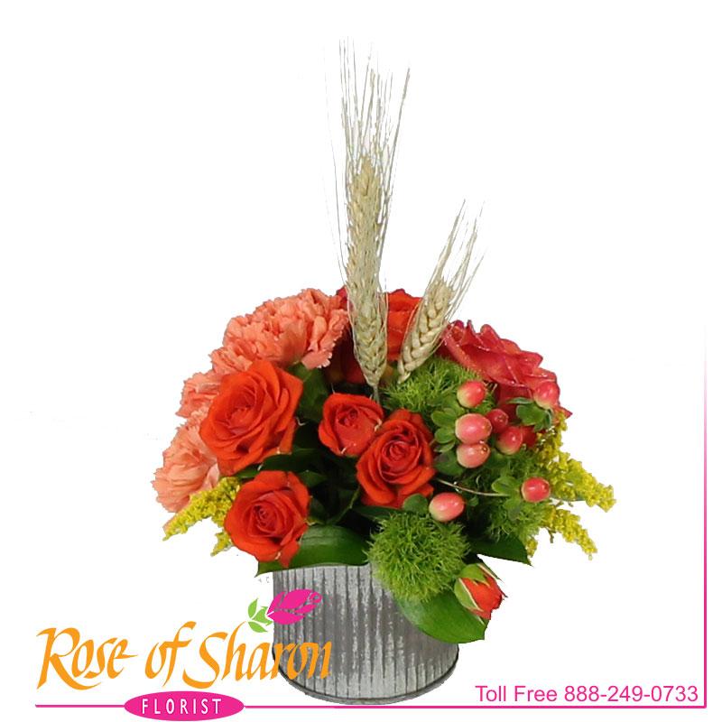 2649 Miki Autumn Bouquet Image One