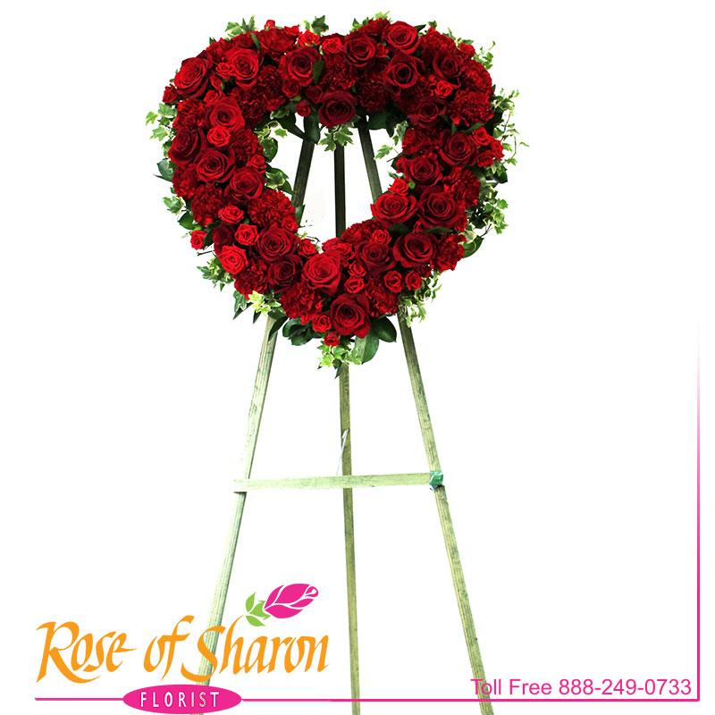 2668 Everlasting Rememberance Heart Image One