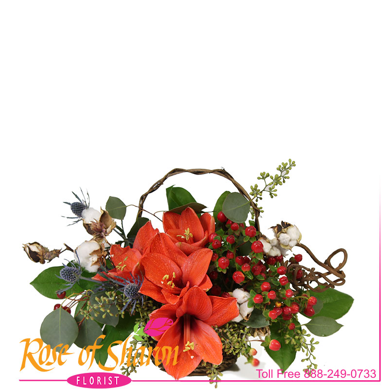 2670 Sienna Autumn Table Bouquet Image One