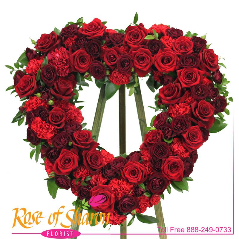 Ruby Rose Heart Spray main product image