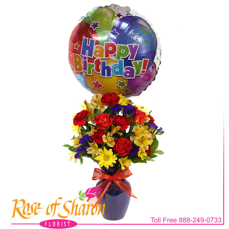 2746 Fly Away Birthday Bouquet product image