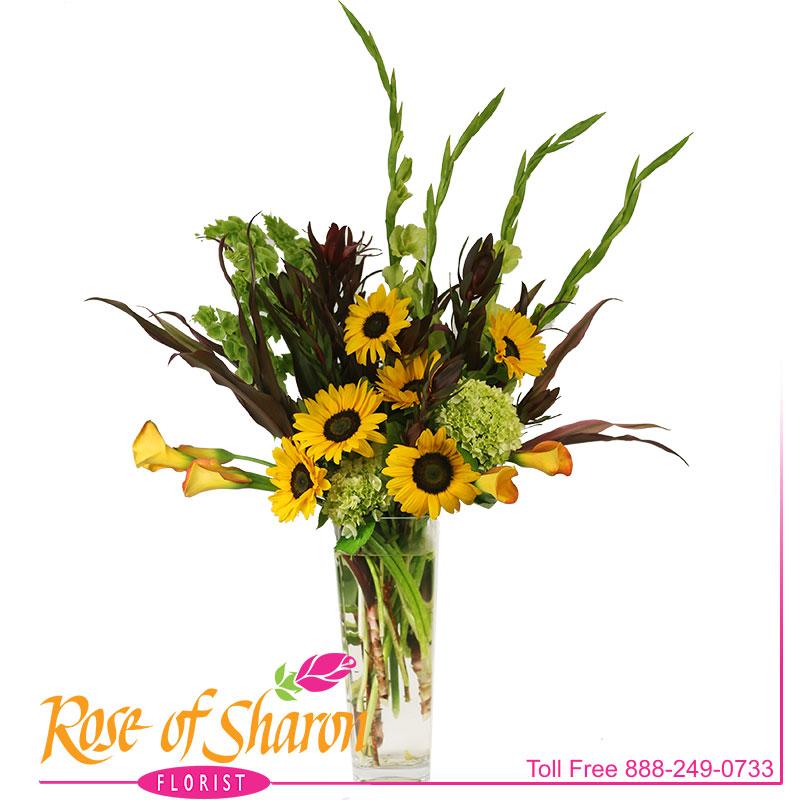 Lorelai Sunflower Vase main product image