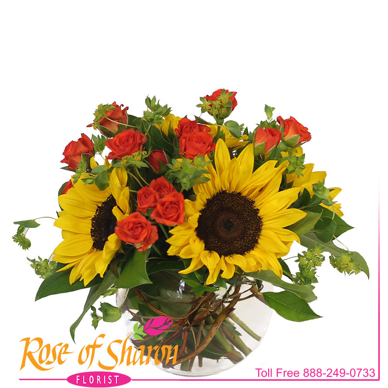 2780 Layla Sunflower Bouquet product image