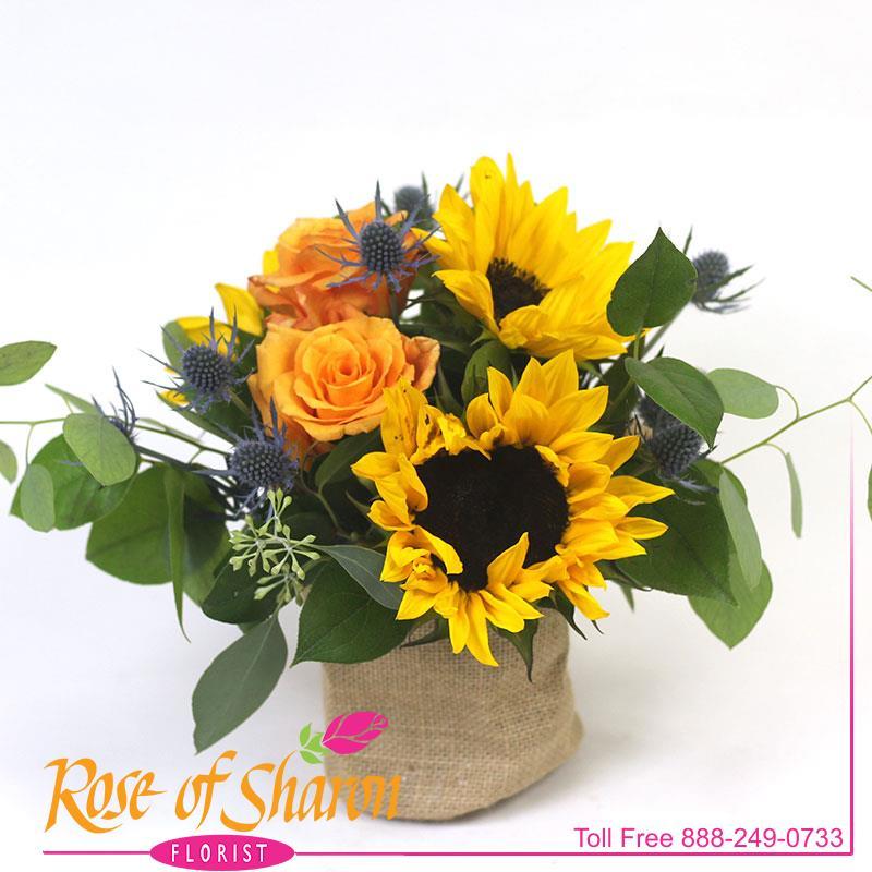 2914 Joel Sunflower Bouquet product image