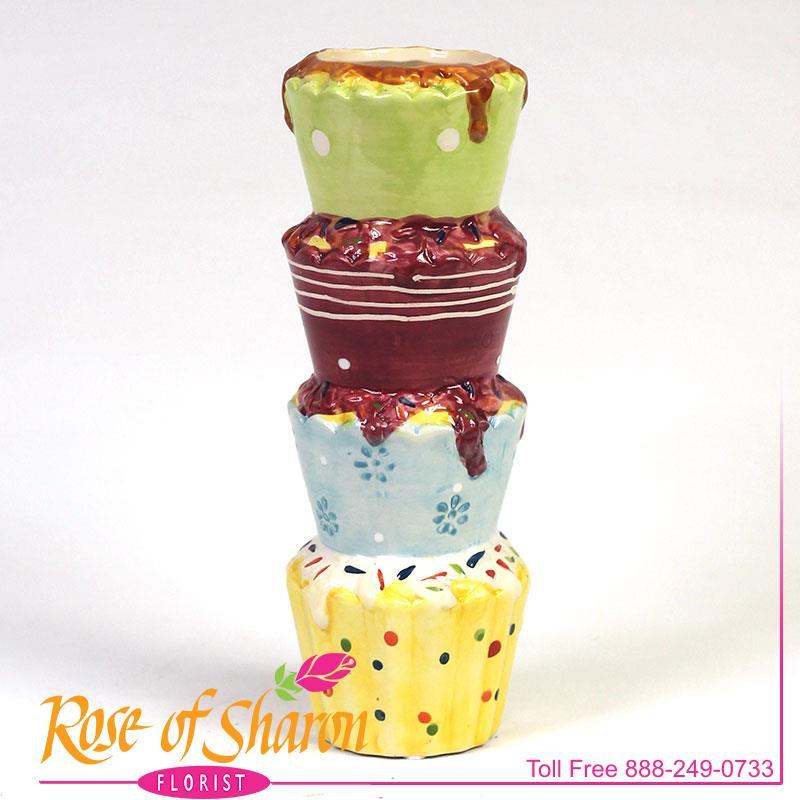 2924 Birdie Cupcake Tower Image Two